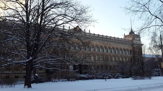 Landgericht Dresden Winter